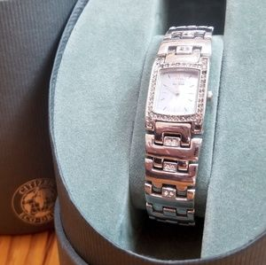 Citizen Silhouette Eco-Drive Crystal Watch